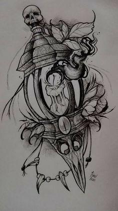 Эскизы татуировок эскиз тату ideias de tatuagens, desenho tatuagem и desenh Neo Tattoo, Dark Tattoo, Tatoo Art, Body Art Tattoos, Sleeve Tattoos, Cool Tattoos, Awesome Tattoos, Skull Tattoo Design, Tattoo Design Drawings
