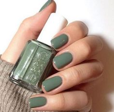 A manicure is a cosmetic elegance therapy for the finger nails and hands. A manicure could deal with just the hands, just the nails, or New Nail Colors, Nail Color Trends, Color Nails, Winter Nail Colors, Nagellack Trends, Green Nails, Green Nail Polish, Red Nail, Pink Nail