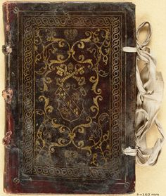 16th century book bindings from throughout Europe