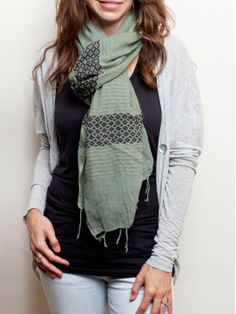 fashionABLE is a site where you can purchase adorable scarves to create sustainable business for women in Africa!    fasionABLE works with women who have been exploited due the effects of poverty. When you purchase a scarf, you are providing jobs, and then fashionABLE sends the net profits back to rehabilitate more women. AMAZING!