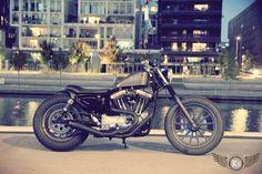 SPORTSTER 1200 BOARDTRACK PAR KUSTOM STORE MOTORCYCLES