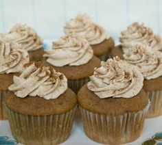 Snickerdoodle Cupcakes with Brown Sugar Buttercream | Simple Dish: Real food for real life.