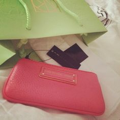 Key purse Marc by Marc Jacobs in Bright Coral S/S14