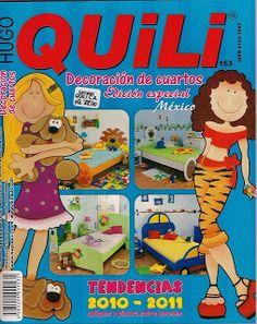 Revistas de Manualidades Para Descargar: Quili Decoracion de Cuartos N°153