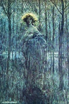 Fair Helena 2, by Arthur Rackham. My father bought me this picture. Love it.