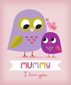 Amy Cartwright - Mothers Day Owls Pinned by www.myowlbarn.com