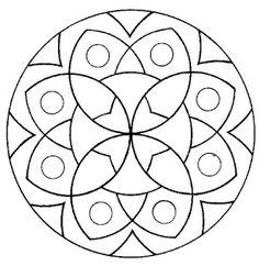 Mandalas para pintar, imprimir y colorear. A través de las diferentes combinaciones de colores, los mandalas producen a su vez diferentes impresiones. <br><br><b> mandalasparapintar.blogspot.com</b><br><br> Muchas gracias por tu visita! Aqui podras encontrar mas de 2.800 mandalas! (4 millones de personas han visto esta pagina)