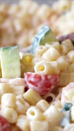 Pasta Salad Shrimp Pasta Salad is a super simple, cold pasta dish that's perfect for potlucks, BBQ's and parties!Shrimp Pasta Salad is a super simple, cold pasta dish that's perfect for potlucks, BBQ's and parties! Seafood Appetizers, Seafood Salad, Seafood Dishes, Shrimp Pasta Salads, Macaroni Salad With Shrimp, Easy Cold Pasta Salad, Shrimp Soup, Tuna Pasta, Veggie Pasta