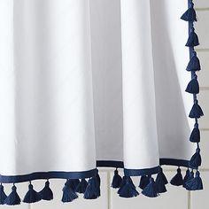 Tassel Shower Curtain