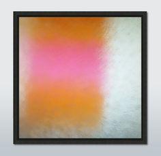 """Yellow-pink square"" by Lena Weisbek #artefactumshop #fotokunst-abstrakt #galerieartefactum"