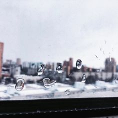 #selfart #sky #city #window #rain