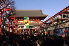 浅草寺 初詣 - Google 検索