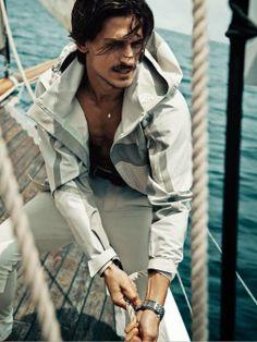 "Male Fashion Trends: ""Time and Tide"": Jarrod Scott para GQ Australia Marzo 2014"