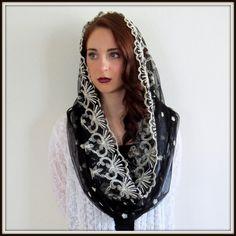 Women's Chapel Veil. Love it! $42