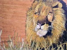 Painted Keepsake Box Nature Art  Portrait of a by BetweenTheWeeds, $98.00