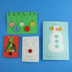 Einfache tolle Karten für Weihnachten/Christmas