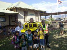 Walking School Bus from Get Fit Kauai