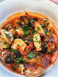 Apr 2019 - Soup season is here and what better way to warm up then with a big bowl of Seafood Stew – Cioppino. I am making this recipe super easy for you to make and enjoy. Yes…you can spend hours… Fish Recipes, Seafood Recipes, Cooking Recipes, Seafood Appetizers, Cooking Hacks, Recipes Dinner, Potato Recipes, Dessert Recipes, Seafood Dishes