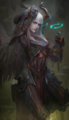 Punchy the fallen angel by theDURRRRIAN.deviantart.com on @DeviantArt