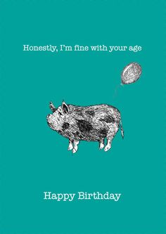Funny needy pig birthday card i am making an effort pig birthday 1 x funny needy pig birthday card honestly im by peachythrills bookmarktalkfo Image collections