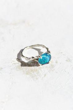 HLSK Olear Australian Opal Ring