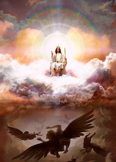 Gods Authority Over Man | The Lord Jesus ascended back into Heaven, where He is seated at the ...