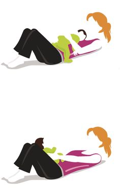 Le rouleau. Exercice à faire dès la naissance. #parent #maman #papa #exercice #bébé