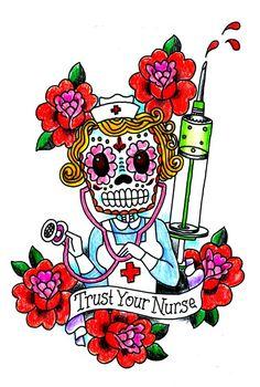 Trust Your Nurse! Nurses Week Quotes, Happy Nurses Week, Nursing Quotes, Hello Nurse, Nurse Love, Rockabilly, Nurse Art, Becoming A Nurse, Icu Nursing