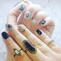 Black and beige nails with black and gold details using @dorothylcosmetics One step gel nail polishes  Polishes used: ·DOROTHY L one step color polish gel No. 07 ·DOROTHY L one step color polish gel No. 20  Find me on facebook: @Stellatnails  Follow Dorothy L : Facebook :@DorothyLCosmetics Instagram : @dorothylcosmetics   #nails #nailart #nailpolish #black #beige #gold #gel #gelpolish #dorothyl #dorothylcosmetics #stellatnaildesignes Nail Polishes, Gel Nail Polish, Gel Nails, Beige Nails, Nailart, Nail Designs, Facebook, Photo And Video, Gold