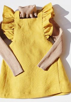 Slow Children's Fashion at Freya Lillie - Herbstmode - KidFashion Baby Outfits, Kids Outfits, Toddler Outfits, Cool Kids Clothes, Cute Baby Clothes, Clothes Sale, Baby Girl Fashion, Toddler Fashion, Fashion Children