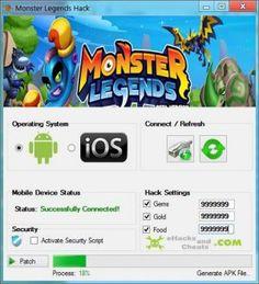 Monster Legends Hack