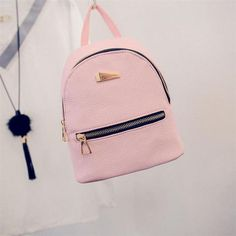 New Women's Backpack Travel School Rucksacks 5 Colors black pink Student Fashion backpacks for teenage girls backpack women