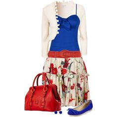 """Signs of Spring"" by chelseagirlfashion on Polyvore"