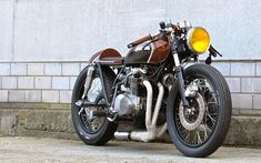 Honda Café Racer - 500 cc worked over and ready to roll.....