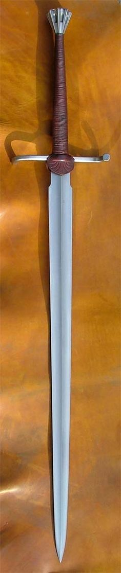 Recreation of an historical sword named after its owner, Swedish Viceroy and knight, Svante Nilsson Sture. One of my favorites.