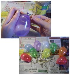 Things to Make and Do - Make String Eggs