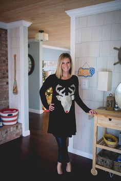 Oh Deer! Tunic for only $23 - cute with leggings for Christmas!