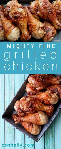 Mighty Fine Grilled Chicken - zenbelly