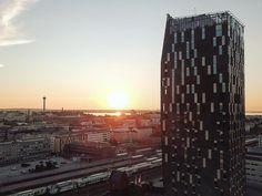 #sunset #tampere #iiaftampere2018 #torni #tornihotelli #sokoshoteltorni #dji #mavic #mavicpro #djimavicpro #drone #dronepilot #dronestagram #suomi #finland #scandinavia Staycation, Finland, Skyscraper, Thats Not My, Sunset, Building, Skyscrapers, Buildings, Sunsets
