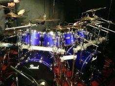 Junji's drums. Kiryu.