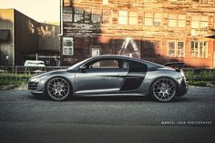 Audi R8 GT with HRE P40SC by Marcel Lech Photography