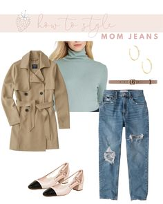 How to Wear Mom Jeans without Looking Frumpy | Strawberry Chic Mom Jeans Outfit, Jean Outfits, Sweater Weather, Workout Tops, Affordable Fashion, Instagram Fashion, Boyfriend Jeans, Autumn Winter Fashion, Womens Fashion