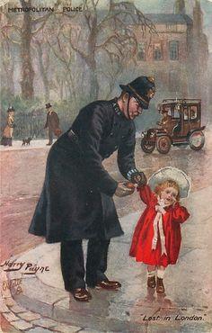 """METROPOLITAN POLICE  """"LOST IN LONDON"""""""