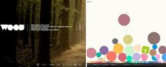 Creative Website Design Trends ~~ There are thousands of different ways you can design a website, the options are rather endless in fact. Color palettes, placement, design and branding all come into effect in the same space, so it is important for there to be a cohesive theme throughout. S…