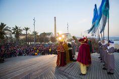 Els Reis i la seva comitiva saluden a la ciutat. 2017