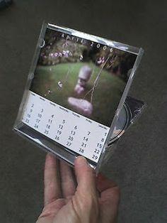 Mimundomanual: Haz un calendario en una caja de CD