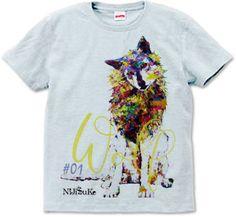 オオカミ T #01