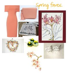"""""""Spring is in the Air"""" by baymoondesign ❤ liked on Polyvore featuring Yigal AzrouÃ«l"""