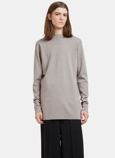 Men's Knitwear - Clothing   Order Now at LN-CC - Oversized Tight Knit Sweater
