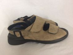 Wolky Nimes 39 US 8-8.5 Tan Suede Sandals Worn Once Shoes Ankle Strap Beige  #Wolky #AnkleStrap #Casual